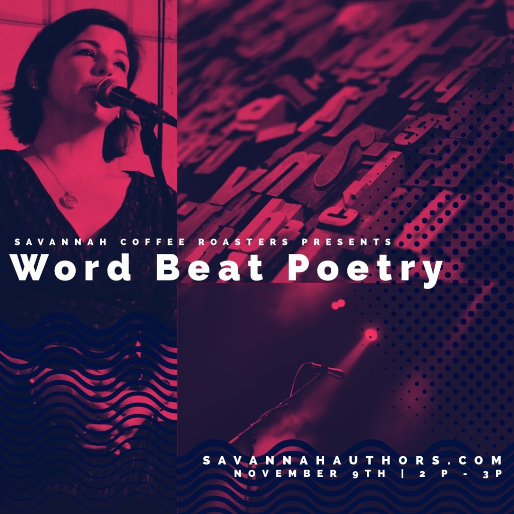 Word Beat Poetry, 2 p.m. to 3 p.m.