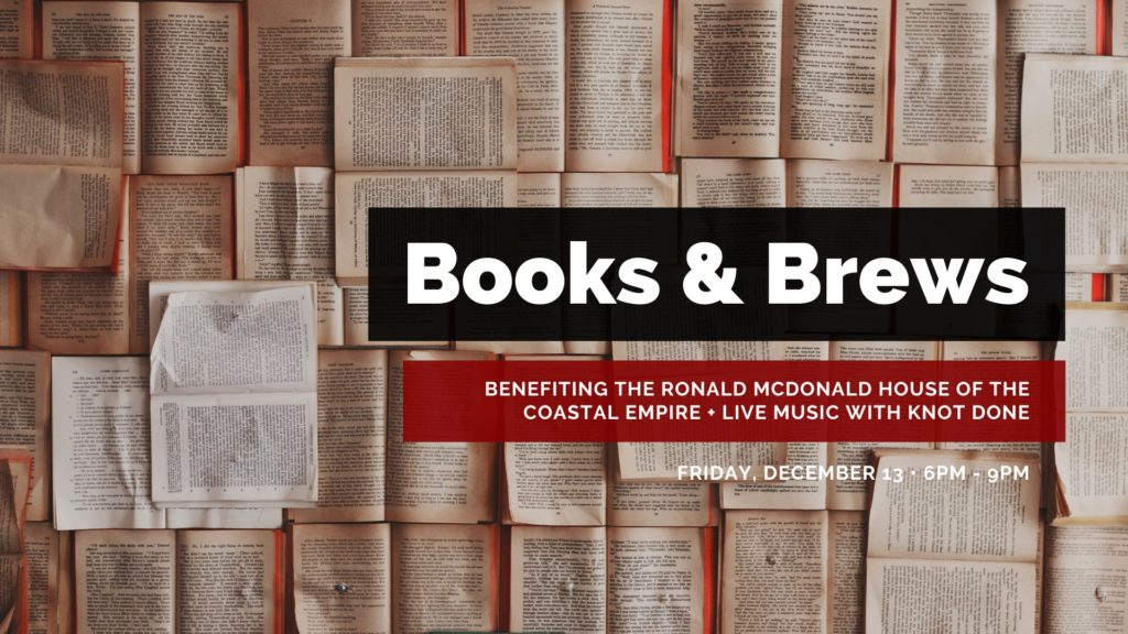 Books and Brews event at Southbound Brewing Co., Dec. 13, 6-9 p.m.