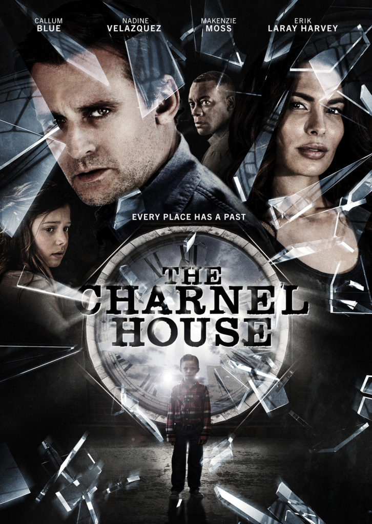 Poster for the horror film 'The Charnel House'