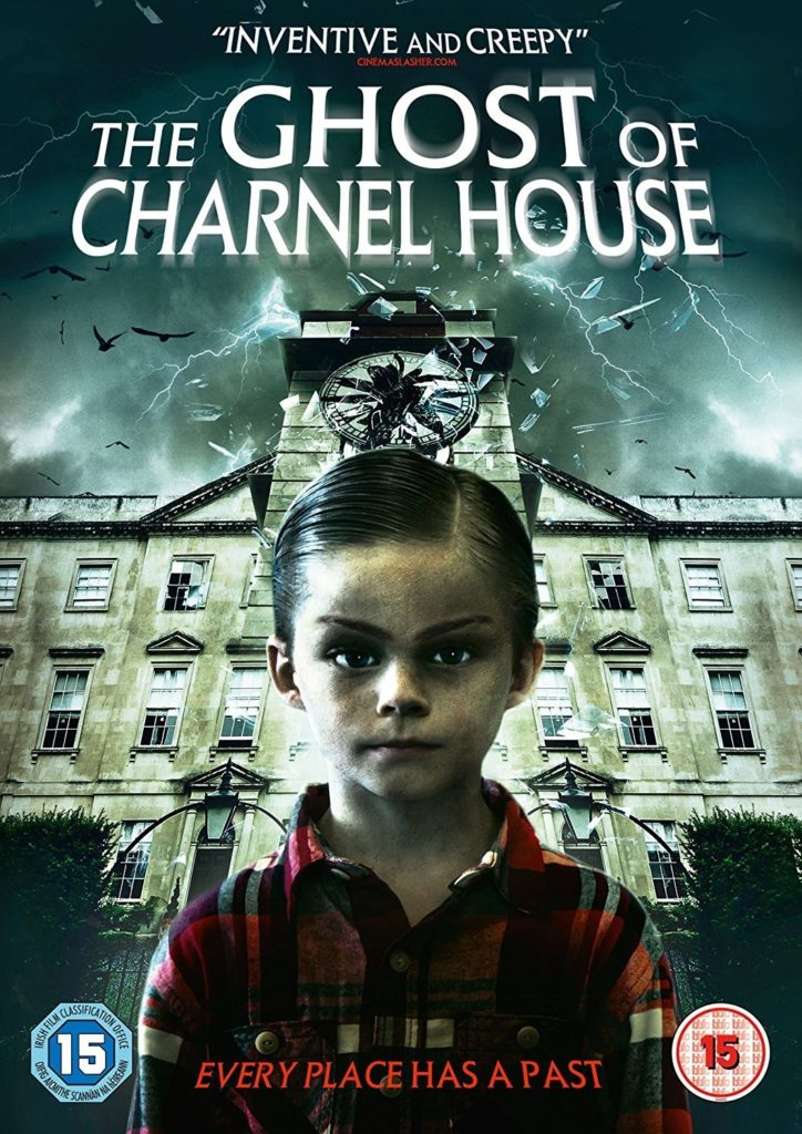 Poster for the horror film 'The Ghost of Charnel House'